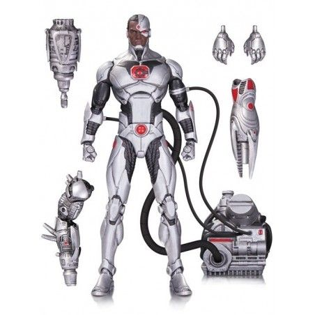 DC COMICS ICONS - JUSTICE LEAGUE CYBORG DELUXE ACTION FIGURE