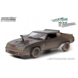 MAD MAX 1973 FORD FALCON WEATHERED DIE CAST 1/24 MODEL GREEN LIGHT COLLECTIBLES