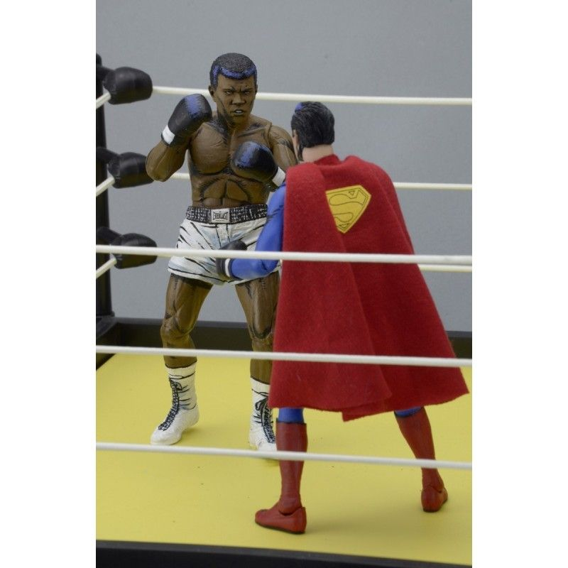NECA DC COMICS - SUPERMAN VS MUHAMMAD ALI 2-PACK SPECIAL EDITION ACTION FIGURE