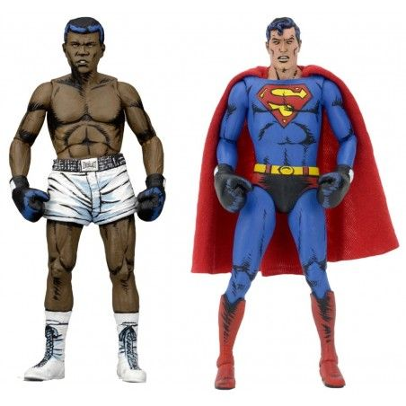 DC COMICS - SUPERMAN VS MUHAMMAD ALI 2-PACK SPECIAL EDITION ACTION FIGURE