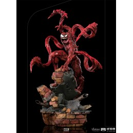 VENOM: LET THERE BE CARNAGE - CARNAGE ART SCALE 1/10 STATUA FIGURE IRON STUDIOS
