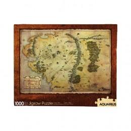 AQUARIUS ENT THE HOBBIT MIDDLE EARTH MAP 1000 PIECES PEZZI JIGSAW PUZZLE 50x70cm