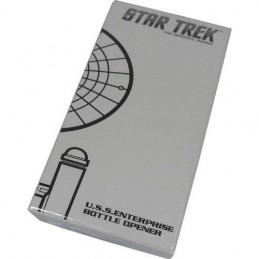 STAR TREK TOS USS ENTERPRISE BOTTLE OPENER APRIBOTTIGLIE