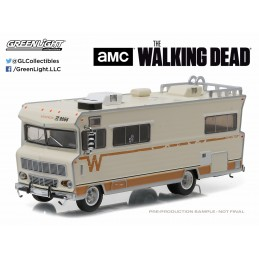 WALKING DEAD - DIE CAST METAL DALE'S 1973 WINNEBAGO CHIEFTAIN 1/64 MODEL