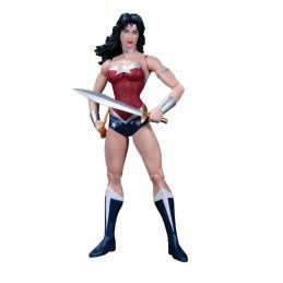 DC COLLECTIBLES JUSTICE LEAGUE THE NEW 52 WONDER WOMAN (NO BLISTER) ACTION FIGURE