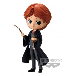 HARRY POTTER Q POSKET - RON WEASLEY WITH SCABBERS MINI ACTION FIGURE BANPRESTO