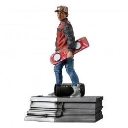IRON STUDIOS BACK TO THE FUTURE II MARTY MCFLY ART SCALE 1/10 STATUE FIGURE