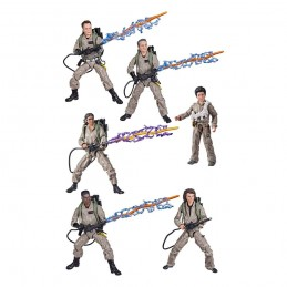 GHOSTBUSTERS ASFTERLIFE PLASMA SERIES - SET COMPLETO 6X ACTION FIGURE HASBRO