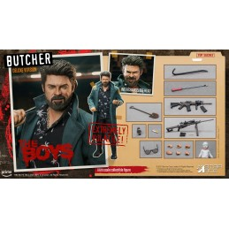 STAR ACE THE BOYS BILLY BUTCHER DELUXE 30CM ACTION FIGURE