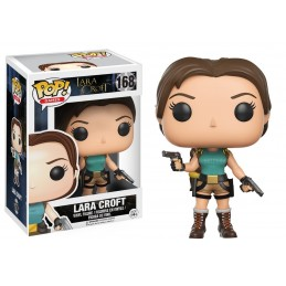 FUNKO POP! TOMB RAIDER - LARA CROFT BOBBLE HEAD KNOCKER FIGURE