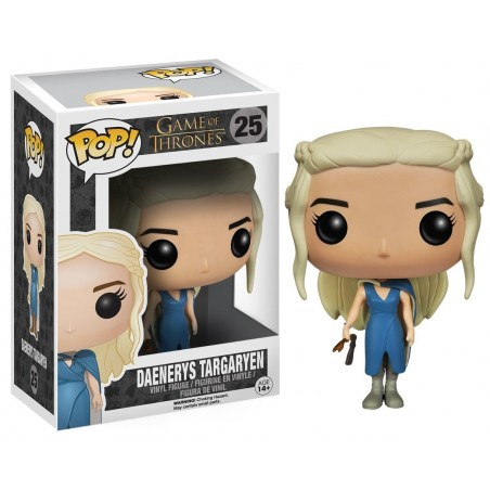 FUNKO POP! GAME OF THRONES - DAENERYS TARGARYEN BOBBLE HEAD KNOCKER FIGURE