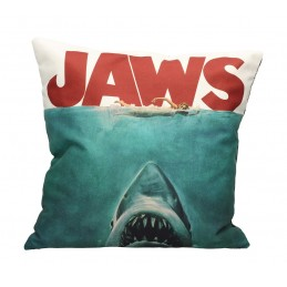 SD TOYS JAWS POSTER COLLAGE CUSHION PILLOW CUSCINO