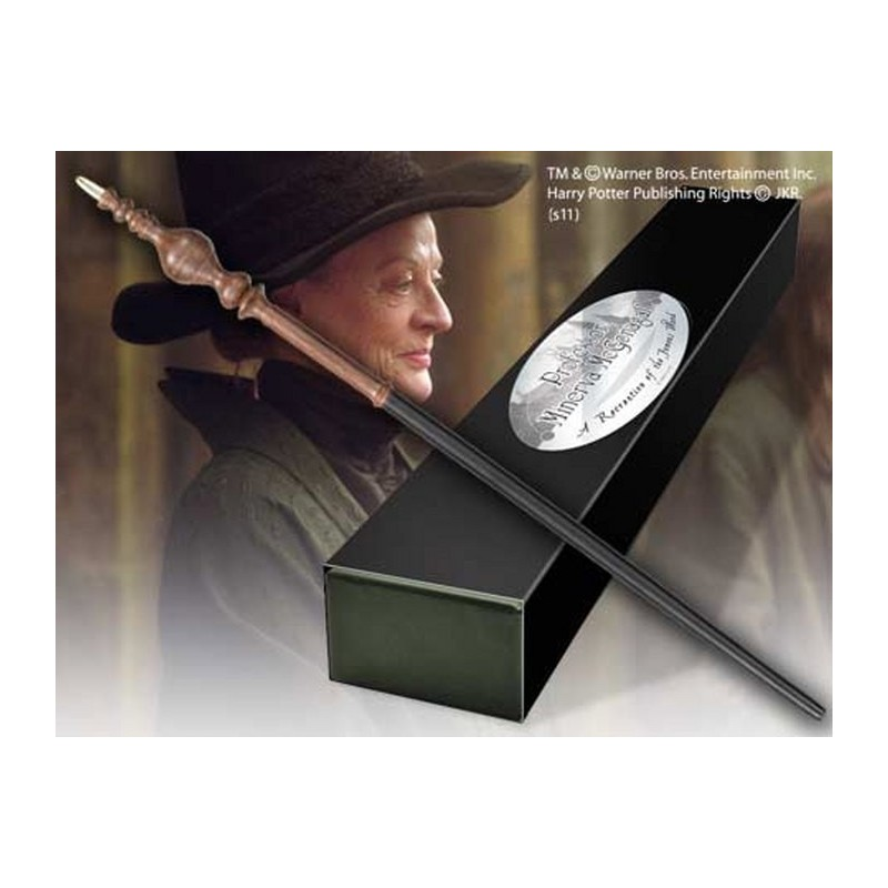 HARRY POTTER WAND MCGONAGALL REPLICA BACCHETTA NOBLE COLLECTIONS