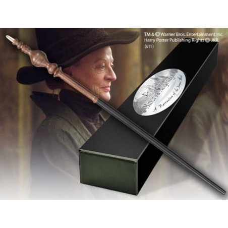 HARRY POTTER WAND MCGONAGALL REPLICA BACCHETTA