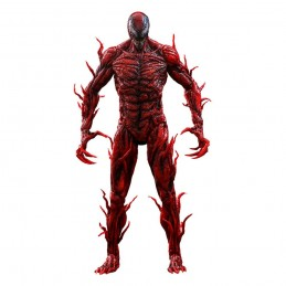 HOT TOYS VENOM: LET THERE BE CARNAGE MOVIE MASTERPIECE CARNAGE ACTION FIGURE