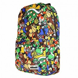 DIFUZED SUPER MARIO CHARACTERS BACKPACK