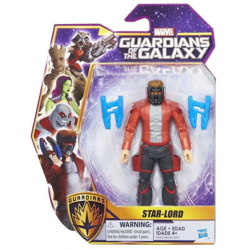 MARVEL GUARDIANI DELLA GALASSIA - STAR-LORD ACTION FIGURE HASBRO