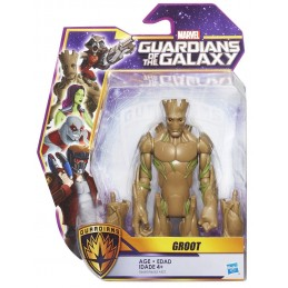 MARVEL GUARDIANI DELLA GALASSIA - GROOT ACTION FIGURE HASBRO