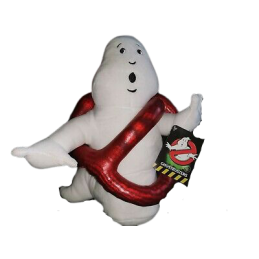 GHOSTBUSTERS LOGO GHOST 30CM PUPAZZO PELUCHE PLUSH FIGURE WHITEHOUSE LEISURE