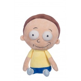 RICK AND MORTY - MORTY HAPPY 30CM PUPAZZO PELUCHE PLUSH FIGURE WHITEHOUSE LEISURE