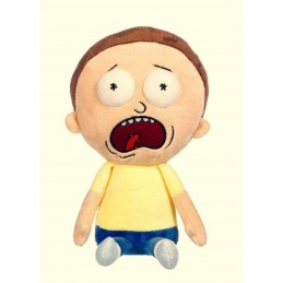 RICK AND MORTY - MORTY SCREAMING 30CM PUPAZZO PELUCHE PLUSH FIGURE WHITEHOUSE LEISURE