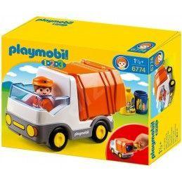 PLAYMOBIL Camion con Garage 1.2.3