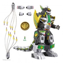 MIGHTY MORPHIN POWER RANGERS ULTIMATES DRAGONZORD ACTION FIGURE SUPER7
