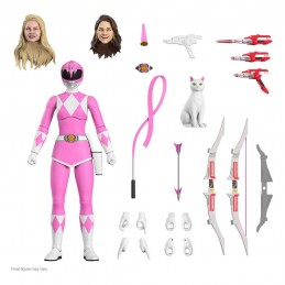 MIGHTY MORPHIN POWER RANGERS ULTIMATES PINK RANGER ACTION FIGURE SUPER7