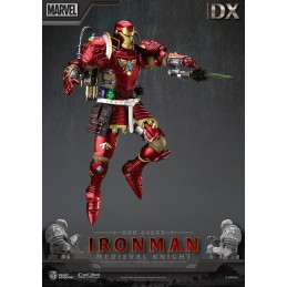 IRON MAN MEDIEVAL KNIGHT DELUXE DAH-046DX ACTION FIGURE BEAST KINGDOM