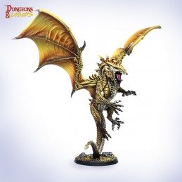 DUNGEONS AND LASERS DURKAN THE SOVEREIGN SERPENT XL SIZED MINIATURE DM VAULT