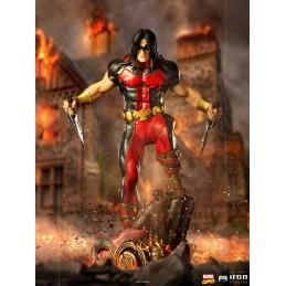 IRON STUDIOS MARVEL COMICS X-MEN WARPATH ART SCALE 1/10 STATUE FIGURE