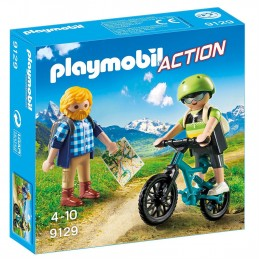 PLAYMOBIL ACTION Ciclista ed Escursionista