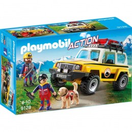 PLAYMOBIL ACTION Jeep Soccorso Alpino
