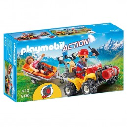 PLAYMOBIL ACTION Quad Soccorso Alpino