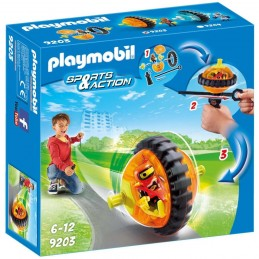 PLAYMOBIL ACTION Speed Roller Arancio Con Robot