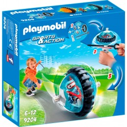 PLAYMOBIL ACTION Speed Roller Blu Con Robot