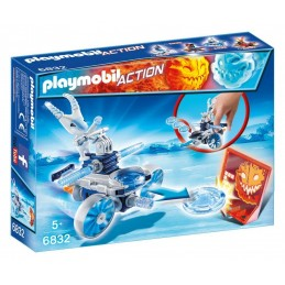 PLAYMOBIL ACTION GAME Sottozero Sp.Jet Lanciadischi
