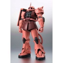 BANDAI THE ROBOT SPIRITS - ZAKU II CHAR'S CUSTOM ANIME VER GUNDAM ACTION FIGURE