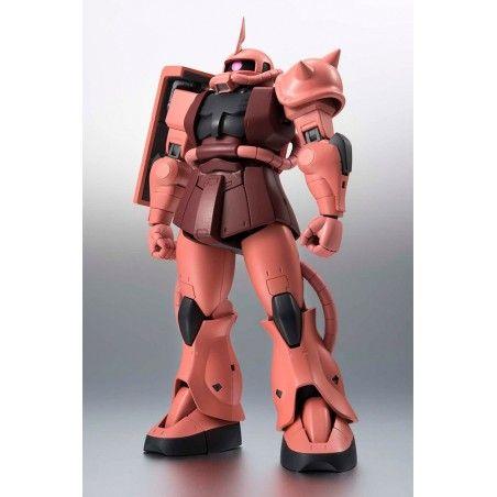 THE ROBOT SPIRITS - ZAKU II CHAR'S CUSTOM ANIME VER GUNDAM ACTION FIGURE