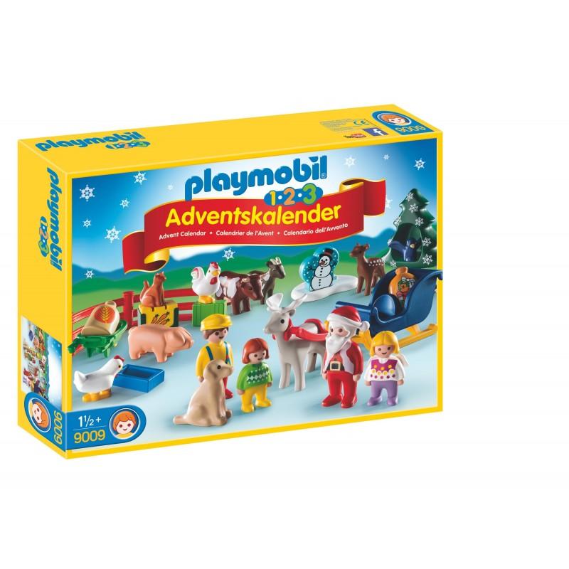 Calendario Avvento Playmobil.Playmobil Calendario Avvento Fattoria 1 2 3