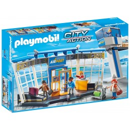 PLAYMOBIL CITY ACTION Aeroporto e Torre Di Controllo