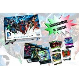 DC COMICS DECK-BUILDING GAME ITALIANO GIOCO DI CARTE