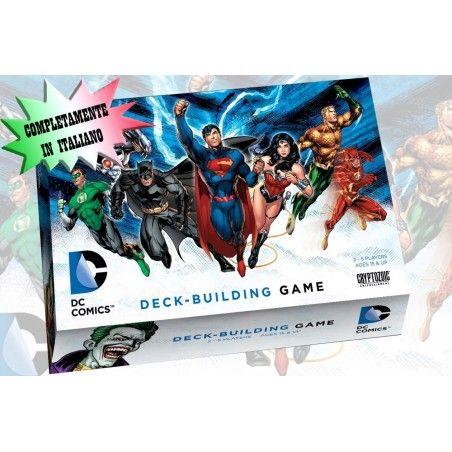 DC COMICS DECK-BUILDING GAME ITALIANO GIOCO DA TAVOLO