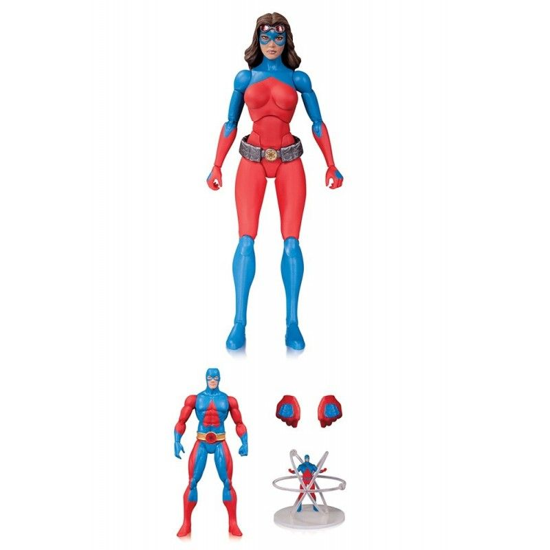 DC COMICS ICONS - ATOMICA DELUXE ACTION FIGURE DC COLLECTIBLES