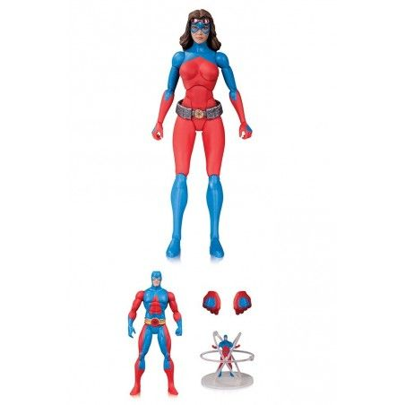 DC COMICS ICONS - ATOMICA DELUXE ACTION FIGURE