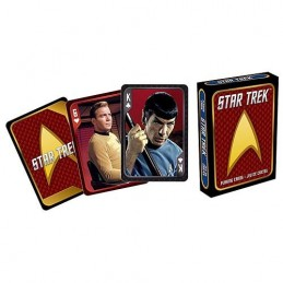 STAR TREK PLAYING CARDS TIN SET CARTE DA GIOCO
