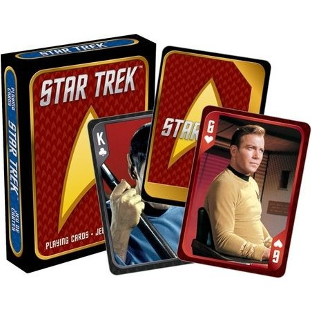 STAR TREK PLAYING CARDS MAZZO CARTE DA GIOCO