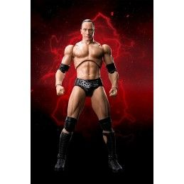 WWE DWAYNE JOHNSON THE ROCK S.H. FIGUARTS SHF ACTION FIGURE