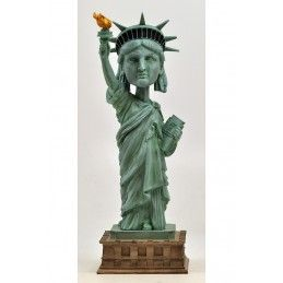 ROYAL BOBBLES STATUE OF LIBERTY HEADKNOCKER BOBBLE HEAD ACTION FIGURE