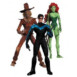 BATMAN HUSH - POISON IVY NIGHTWING SCARECROW 3-PACK ACTION FIGURE DC COLLECTIBLES